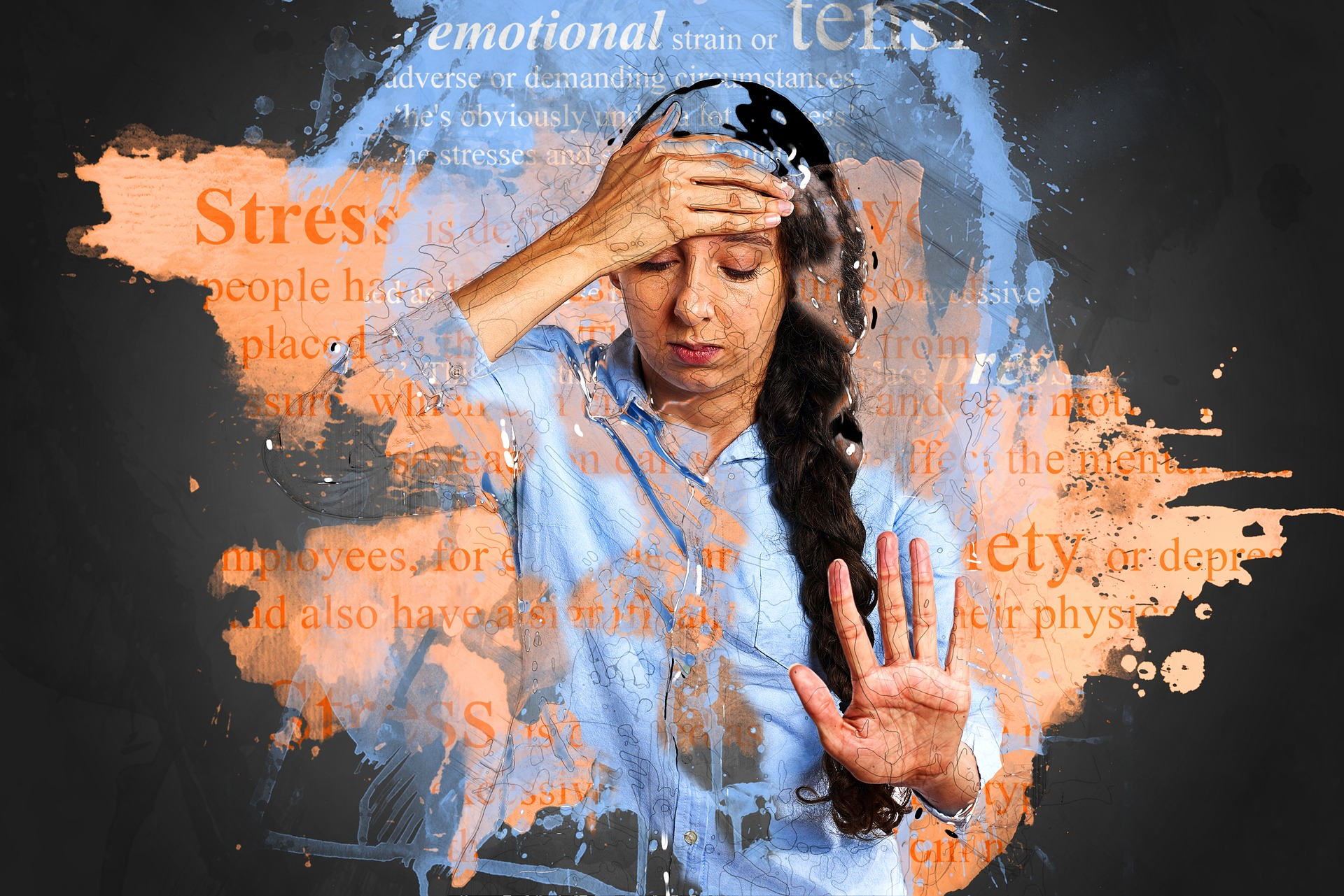 manage stress. Image by Pete Linforth from Pixabay