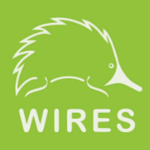wires. wildlife rescue