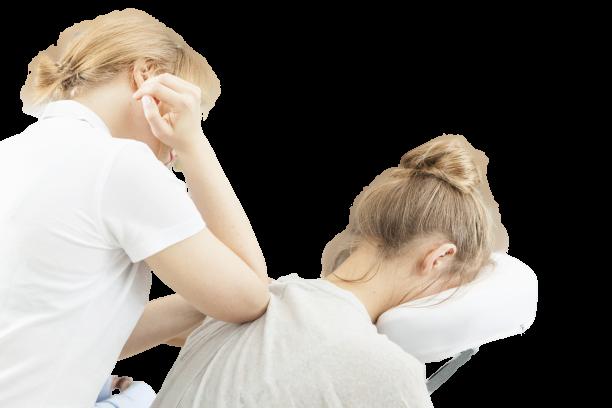 workplace seated massage